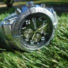 Megir 45mm chronograph stainless steel bracelet