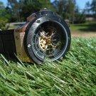Megir 24 hour chronograph watch