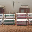 S Scale  Plywood/Lumber (12) Count   AMERICAN FLYER AND OTHERS  free ship