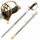 1860 CSA Shelby Officer Civil War Replica Sword