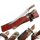 Chinese Damascus Broad Sword