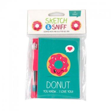 Scentco Note Pad: Donut