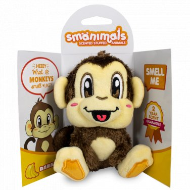 Scentco Smanimals Monkey: Banana
