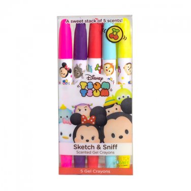 Scentco Disney Tsum Tsum: Gel Crayons 5-Pack