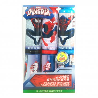 Marvel Spider-Man: Jumbo Smarkers 3-Pack