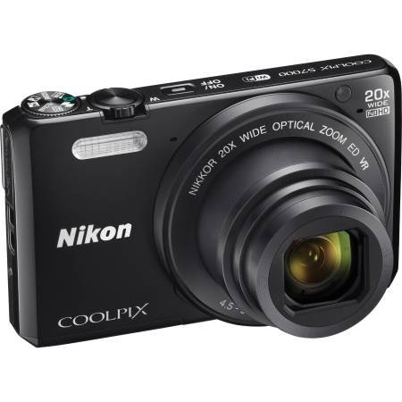 Nikon Coolpix S7000 16 MP Digital Camera with 20x