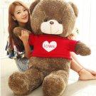 Oversized sweater teddy bear doll plush toy hug bear doll doll doll, high 100cm