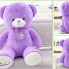 Lavender Cubs Teddy Bear Purple Lavender Hugs Bear Large Plush Toys Event Gift 100cm