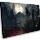 "Bloodborne The Old Hunters Game 8""x12"" (20cm/30cm) Canvas Print"