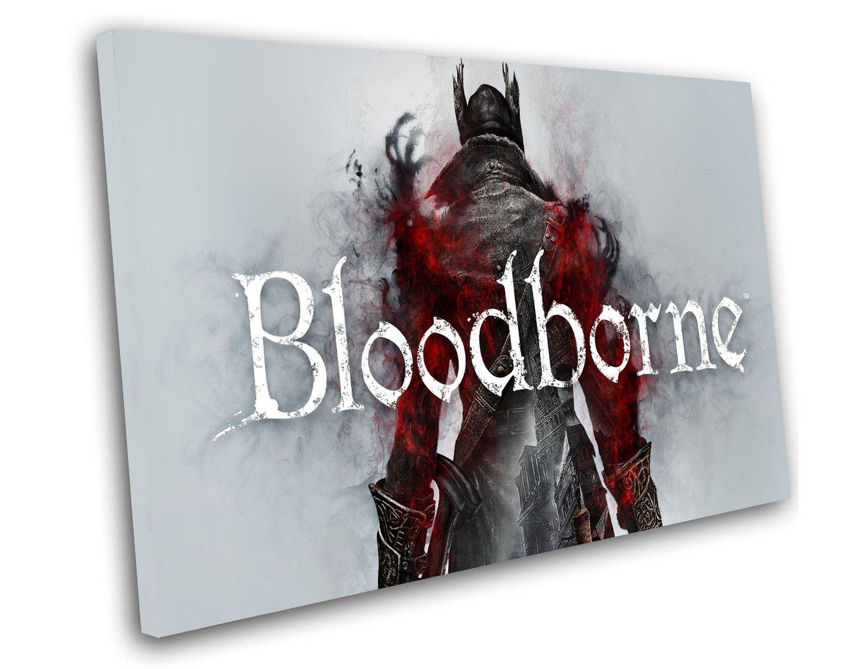 "Bloodborne Game 12""x16"" (30cm/40cm) Canvas Print"
