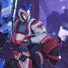 """Overwatch Anniversary Cyberian Zarya Game 18""""x28"""" (45cm/70cm) Poster"""