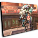 "Overwatch Anniversary Cruiser D.Va Game  12""x16"" (30cm/40cm) Canvas Print"