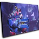 "Overwatch Anniversary Cyberian Zarya Game  12""x16"" (30cm/40cm) Canvas Print"
