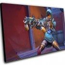 "Overwatch Anniversary Graffiti Tracer Game  12""x16"" (30cm/40cm) Canvas Print"