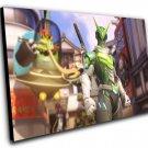 "Overwatch Anniversary Sentai Genji Game  12""x16"" (30cm/40cm) Canvas Print"