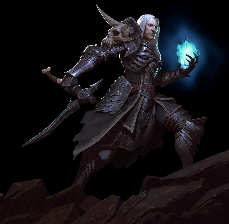 "Diablo 3 Reaper of Souls Necromancer Game 13""x19"" (32cm/49cm) Poster"