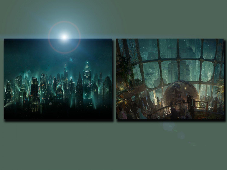 "BioShock Rapture Game 18""x28"" (45cm/70cm) Bundle of 2 Posters"