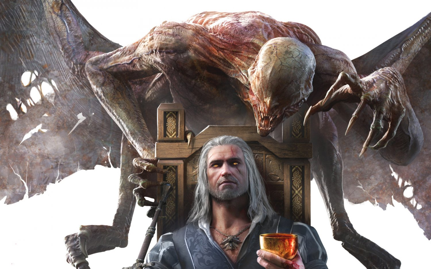 """The Witcher 3 Wild Hunt Blood and Wine Game 18""""x28"""" (45cm/70cm) Poster"""