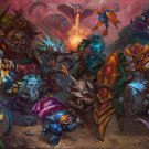 "Heroes Of The Storm  13""x19"" (32cm/49cm) Poster"