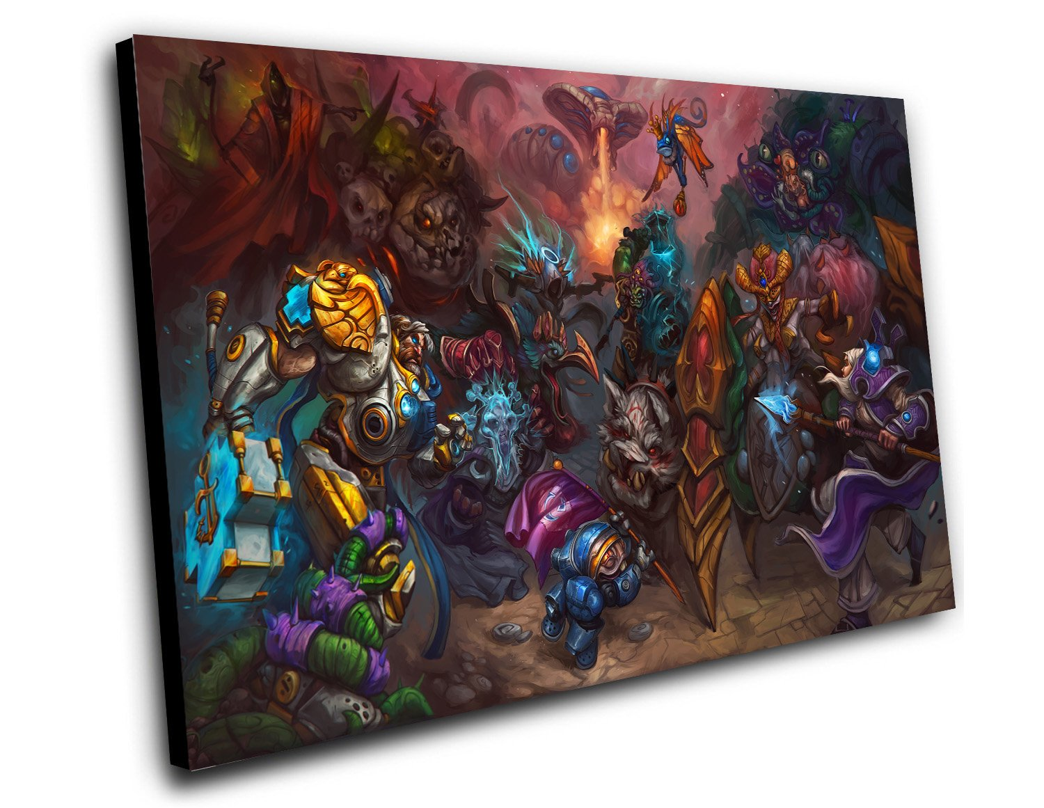 "Heroes Of The Storm  8""x12"" (20cm/30cm) Canvas Print"