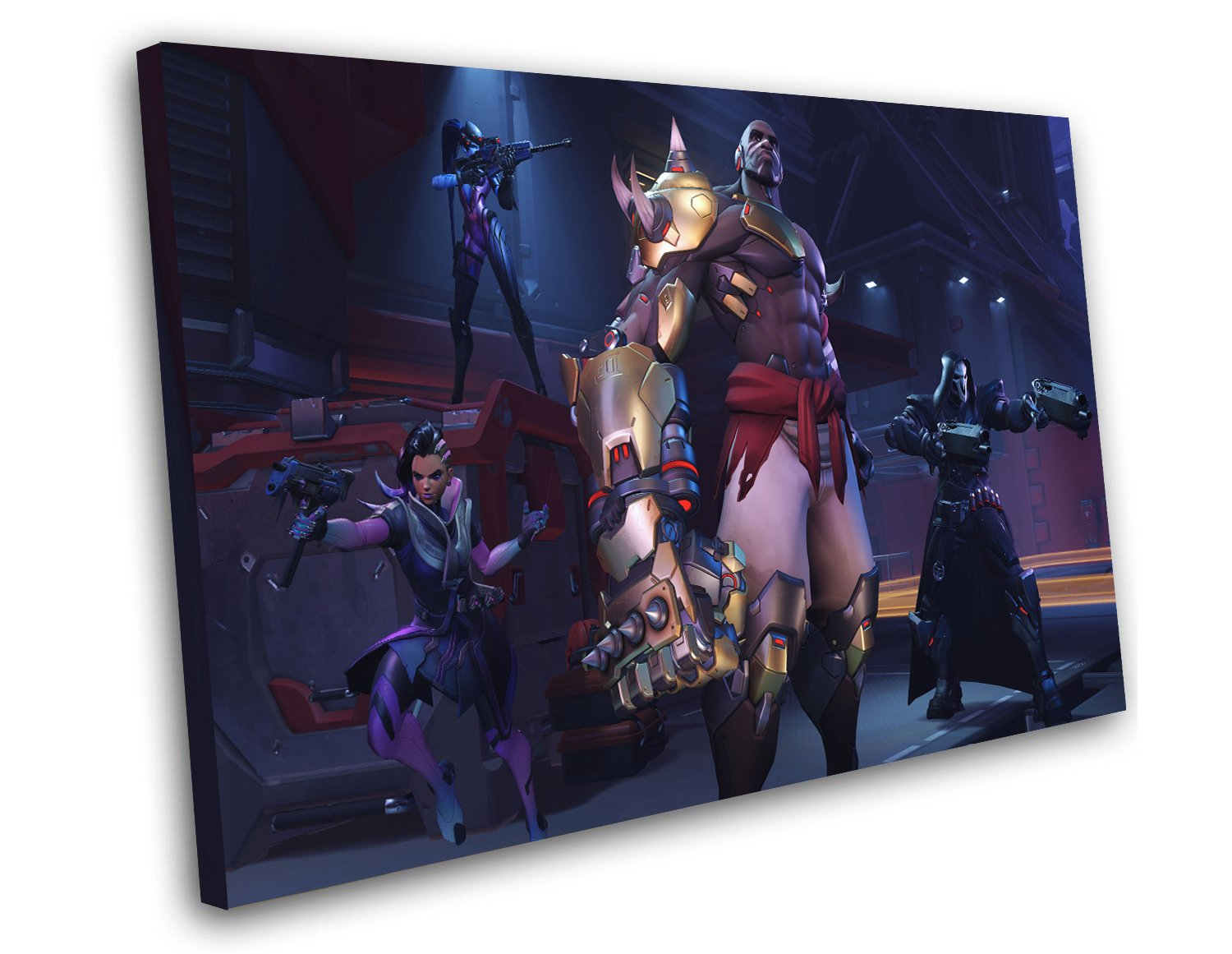 "Overwatch Doomfist Game 12""x16"" (30cm/40cm) Canvas Print"
