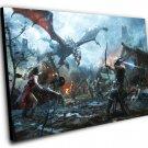 "The Elder Scrolls Legends Heroes of Skyrim  8""x12"" (20cm/30cm) Canvas Print"