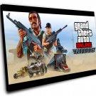 "Grand Theft Auto Game   8""x12"" (20cm/30cm) Canvas Print"