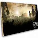"""The Walking Dead Telltale Lee and Clementine Game 8""""x12"""" (20cm/30cm) Canvas Print"""