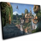 """Uncharted The Lost Legacy Game 8""""x12"""" (20cm/30cm) Canvas Print"""