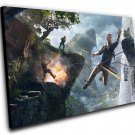"Uncharted 4 A Thief's End Game 8""x12"" (20cm/30cm) Canvas Print"