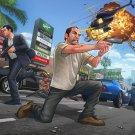 """Grand Theft Auto 5 V Game 13""""x19"""" (32cm/49cm) Poster"""