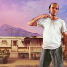 "Grand Theft Auto 5 V Game 18""x28"" (45cm/70cm) Poster"