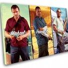 "Grand Theft Auto 5 V Game 8""x12"" (20cm/30cm) Canvas Print"