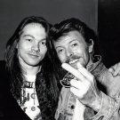 "Axl Rose  David Bowie 13""x19"" (32cm/49cm) Poster"