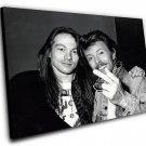 "Axl Rose David Bowie  12""x16"" (30cm/40cm) Canvas Print"