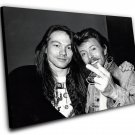 "Axl Rose David Bowie  8""x12"" (20cm/30cm) Canvas Print"