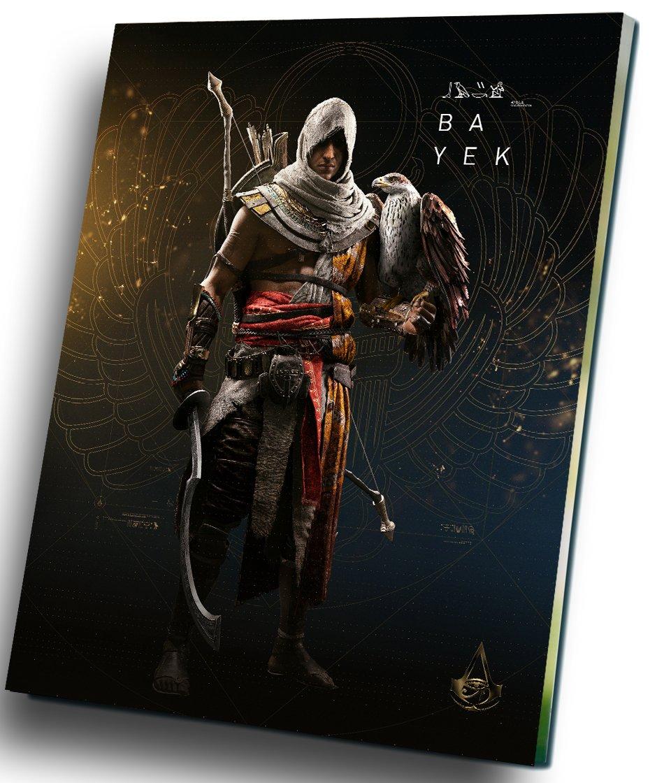 """Assassin's Creed Origins Game  8""""x12"""" (20cm/30cm) Canvas Print"""