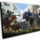 "ARK  Survival Evolved Game  8""x12"" (20cm/30cm) Canvas Print"