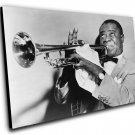 """Louis Armstrong  12""""x16"""" (30cm/40cm) Canvas Print"""