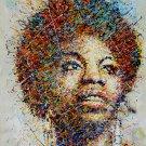 "Nina Simone  13""x19"" (32cm/49cm) Poster"