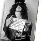 """Slash Guns N' Roses  8""""x12"""" (20cm/30cm) Canvas Print"""