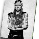 """Axl Rose  Guns N' Roses   8""""x12"""" (20cm/30cm) Canvas Print"""