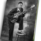 "B B King  12""x16"" (30cm/40cm) Canvas Print"