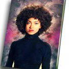 "Esperanza Spalding  12""x16"" (30cm/40cm) Canvas Print"