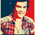 """Harry Styles 13""""x19"""" (32cm/49cm) Polyester Fabric Poster"""