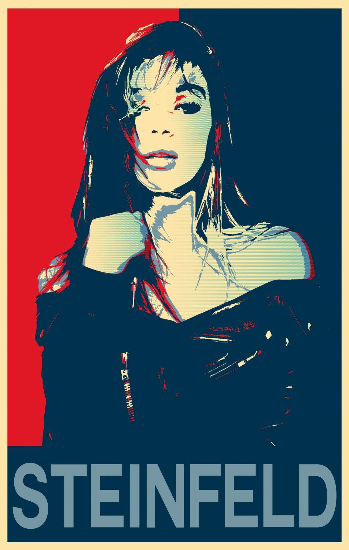 "Hailee Steinfeld  13""x19"" (32cm/49cm) Polyester Fabric Poster"