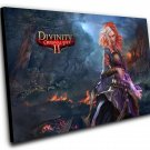 "Divinity Original Sin 2 Game 12""x16"" (30cm/40cm) Canvas Print"