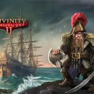 """Divinity Original Sin 2 Game 13""""x19"""" (32cm/49cm) Polyester Fabric Poster"""