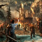 """Middle Earth Shadow of War 13""""x19"""" (32cm/49cm) Polyester Fabric Poster"""