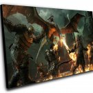 "Middle Earth Shadow of War 8""x12"" (20cm/30cm) Canvas Print"